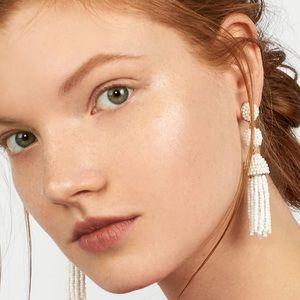 BaubleBar Jewelry - Bubble bar white tassel and beaded earrings